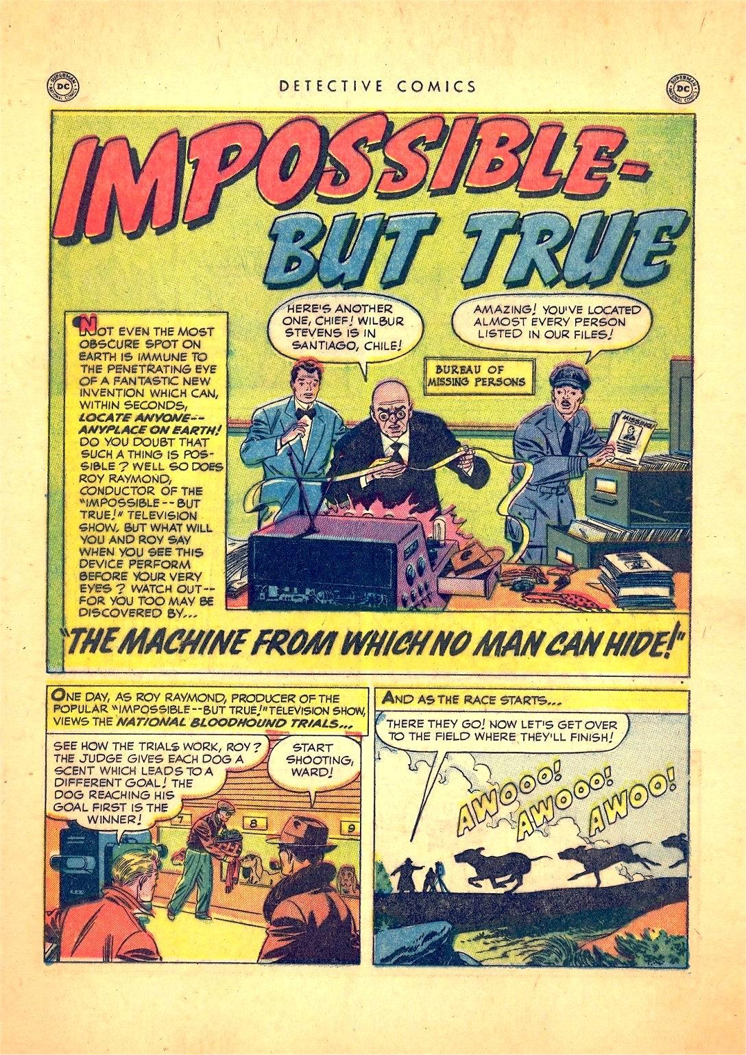 Read online Detective Comics (1937) comic -  Issue #166 - 17