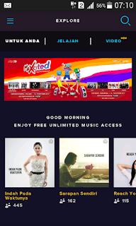 halaman depan aplikasi