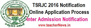 TSRJC 2018 Hall Tickets - Download TS Residential Inter Admission Hall ticket 2018