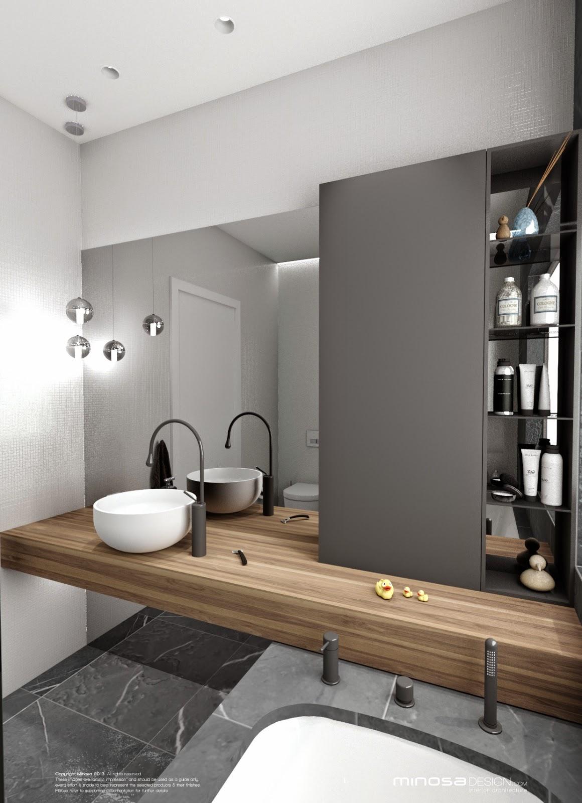 Minosa: Bathroom Design - Small space feels large