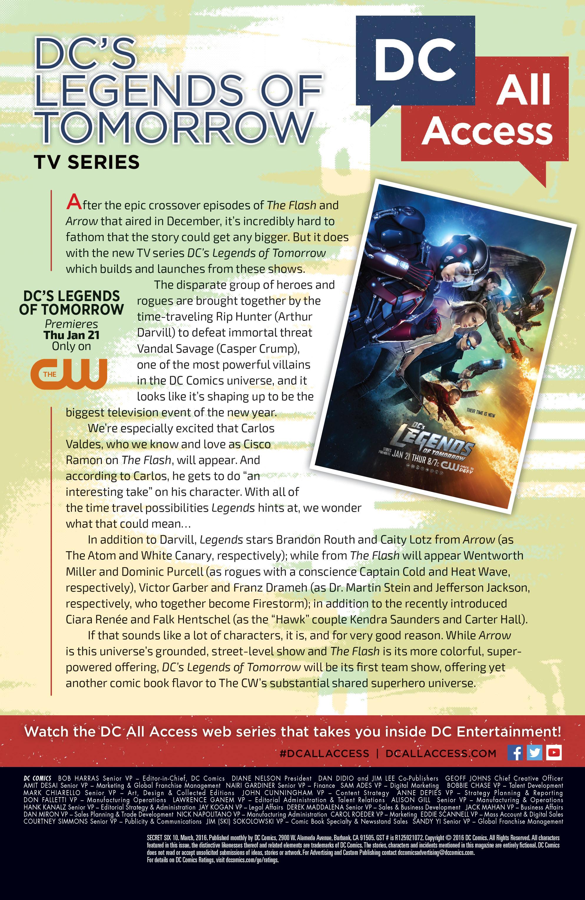 Read online Secret Six (2015) comic -  Issue #10 - 24