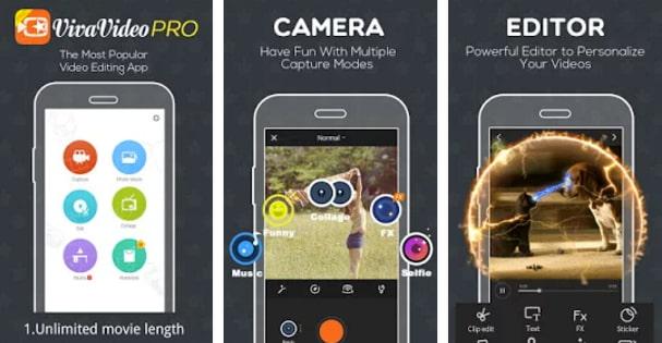 تحميل تطبيق viva video pro للاندرويد النسخة المدفوعة مجانا