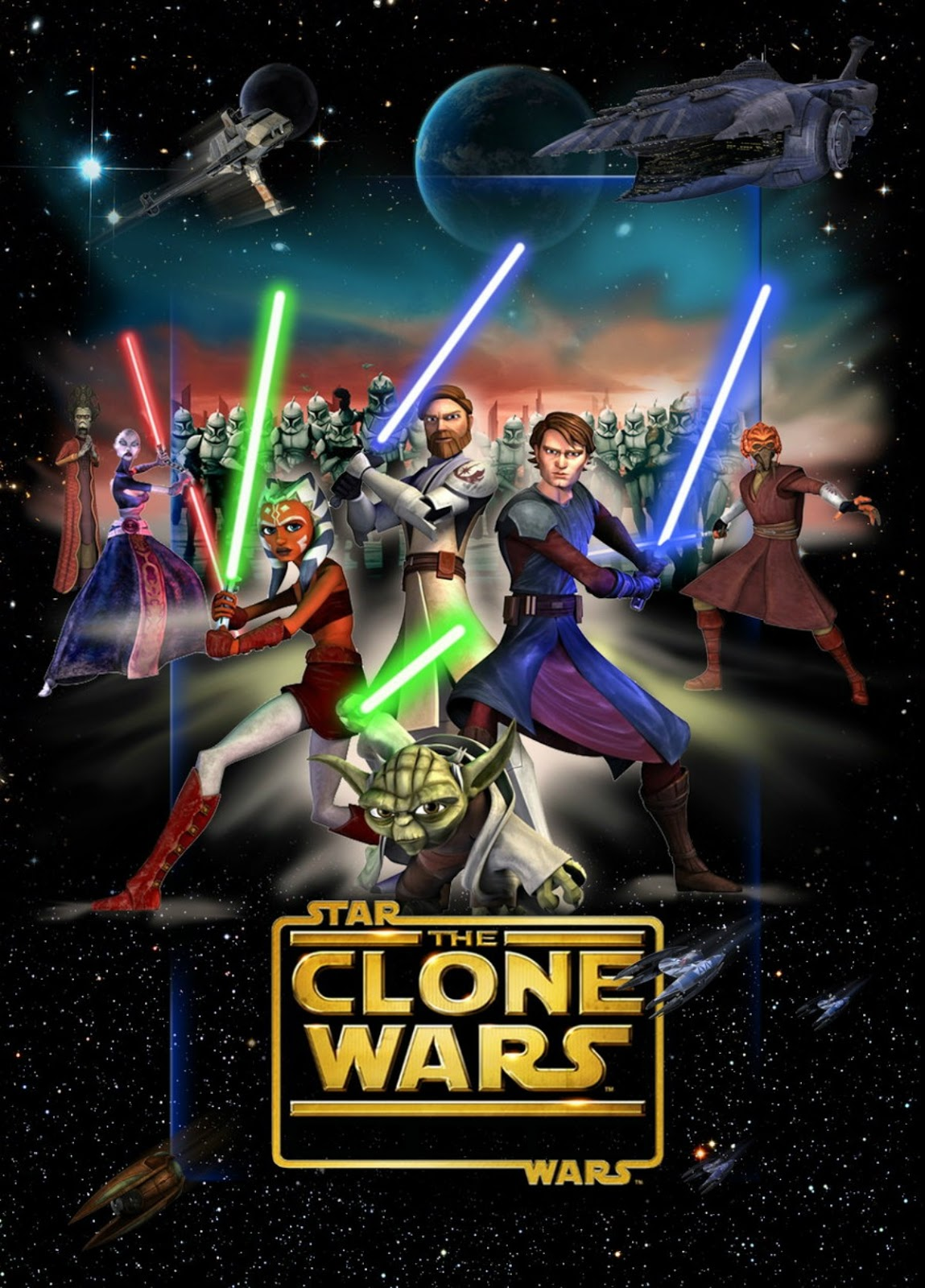 héroes animados star wars the clone wars