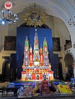 Concurso de belenes de Cracovia en Navidad. Ganador de 2010