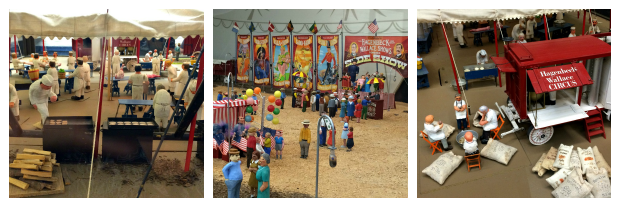 New England Fall Events_The Big E_Circus Museum_Clyde Reynolds_Brooke Evans_Miniature Circus Scenes