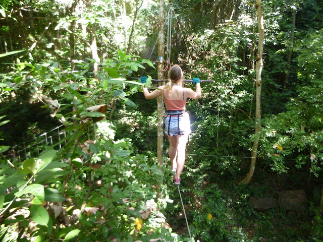 rope walking krabi thailand