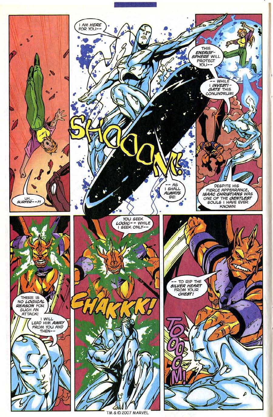Read online Silver Surfer (1987) comic -  Issue #139 - 14