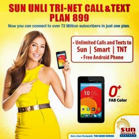 Sun Postpaid Tri-Net Plan 899