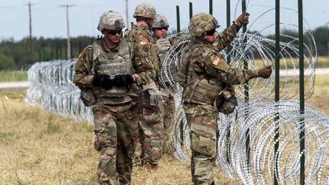 Trump: Los militares usarán fuerza letal para resguardar la frontera de ser necesario