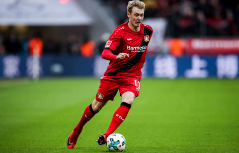 Terza Maglia Bayer 27 LeverkusenJulian Brandt