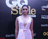 Alia Bhatt looks beautiful stunning in a Light Pink Deep neck Gown ~  Exclusive 024.jpg