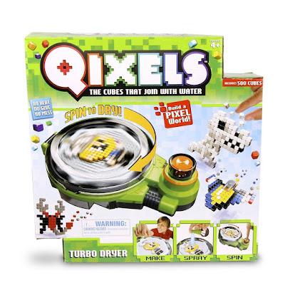 TOYS : JUGUETES - Qixels Turbo Dryer : Estudio Secador Turbo Giochi Preziosi 2016 | A partir de 4 años Comprar en Amazon España