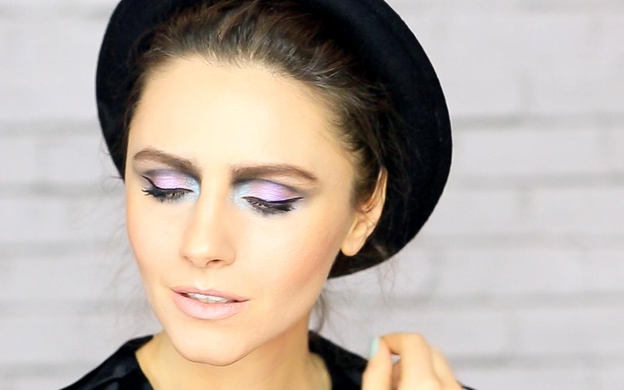 макияж глаз с фантазией