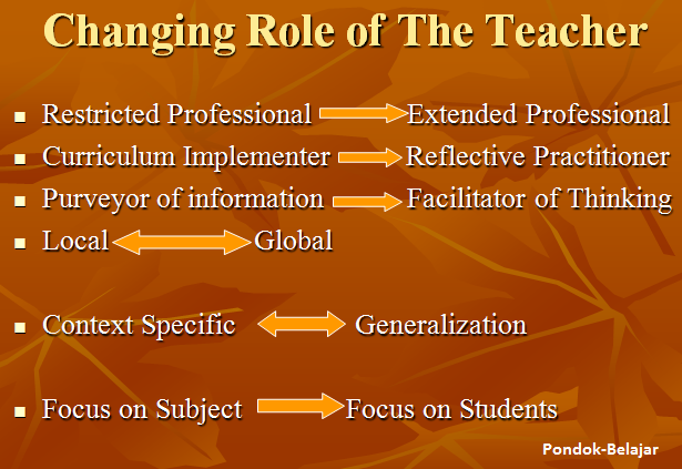 Curriculum Change (Why Curriculum Need A Change)