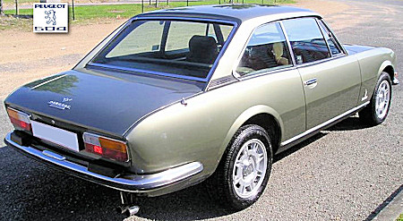 A Palace Of Automobile Peugeot 504 Coupe V6 1975