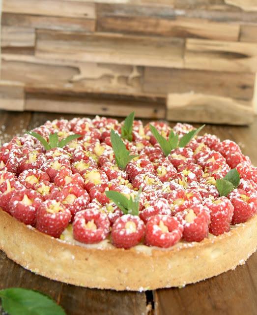 """alt=""""tarte aux framboises"""""""