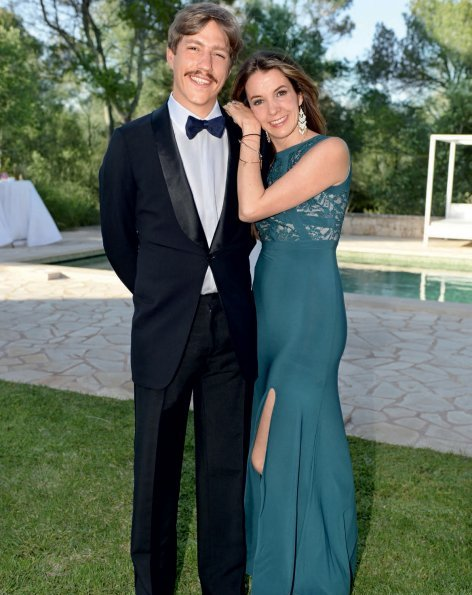 Prince Louis of Luxembourg and Princess Tessy of Luxembourg attended a summer party in Palma de Mallorca