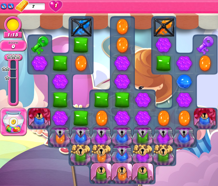 Candy Crush Saga 1525