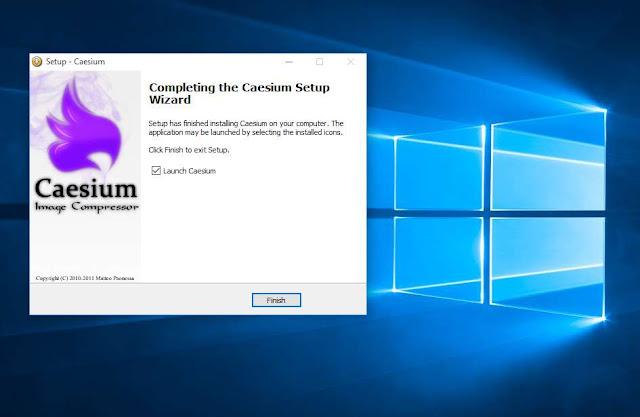 Phần mềm nén ảnh đa định dạng Caesium