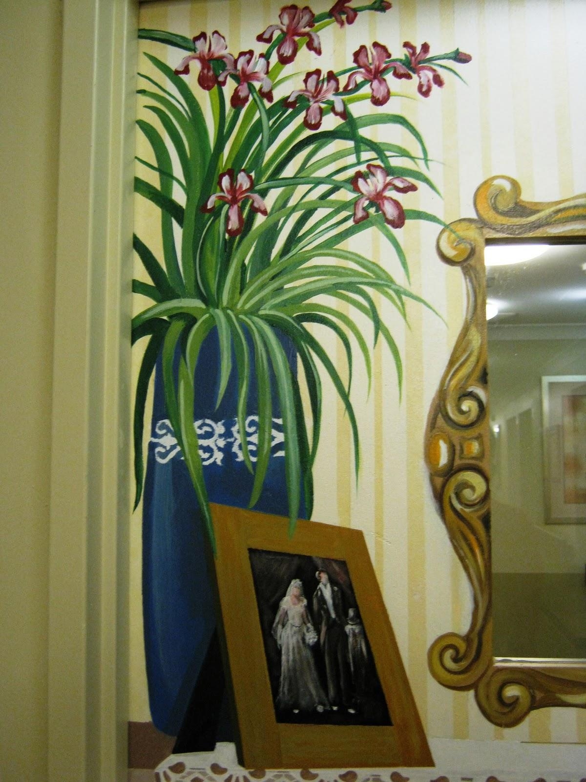 Creativity For The Creator Illusion Murals In Dementia Areas