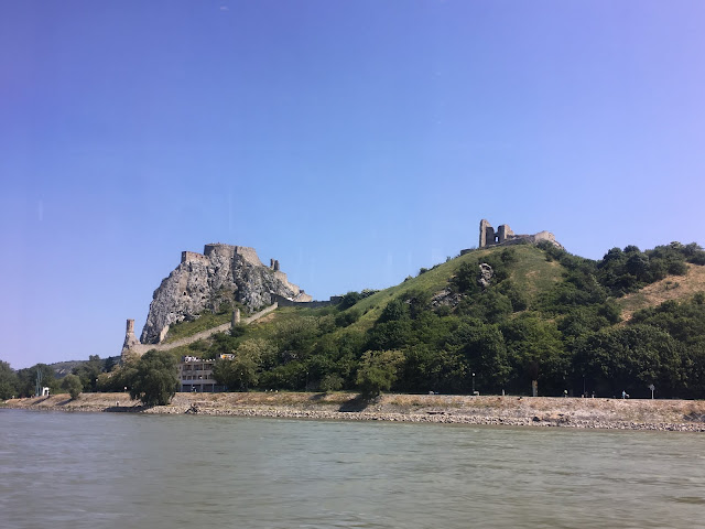 Devin Castle view from the Danube