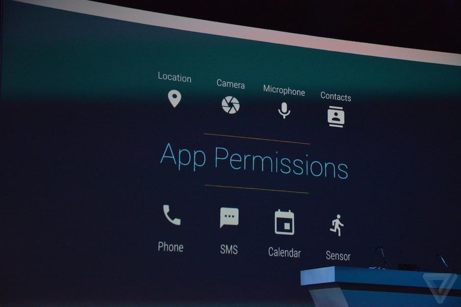 Android M uygulama izinleri