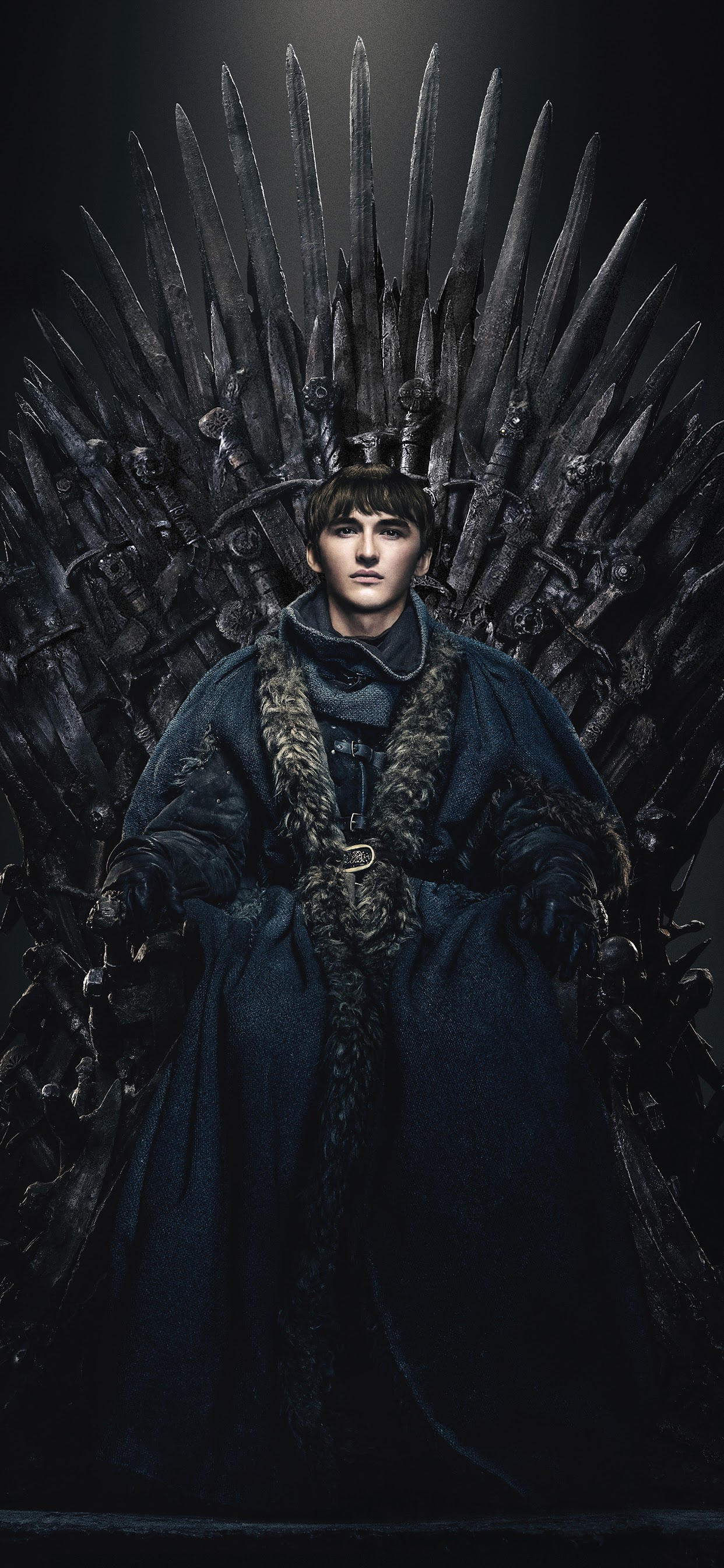 A Longa Noite (Guerra dos Tronos) - 05 vagas. Bran-stark-game-of-thrones-iron-throne-season-8-uhdpaper.com-8K-85
