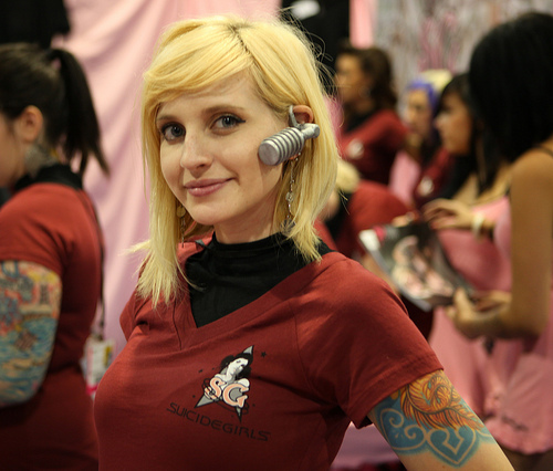 Suicide Girls Cosplay Star Trek
