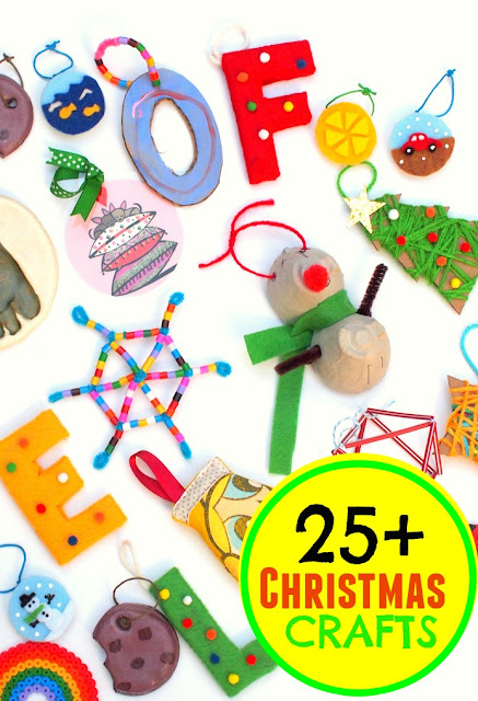 over 25 family friendly and fun Christmas crafts and activities