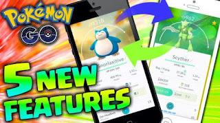 5 New Features Of Pokemon Go