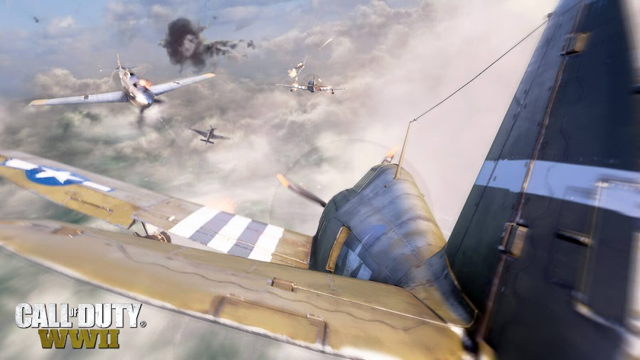 call of duty ww2 days of summer aerial dogfighting