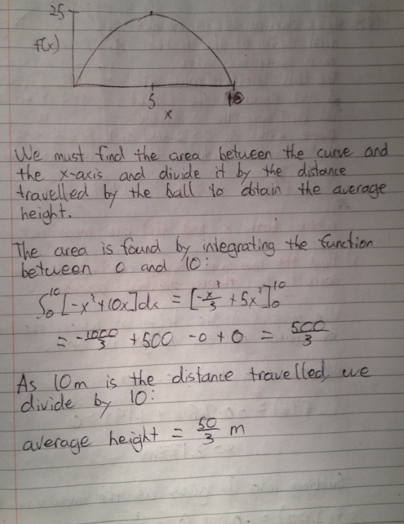 Leaving Cert Project Maths Paper 1 Solutions 14