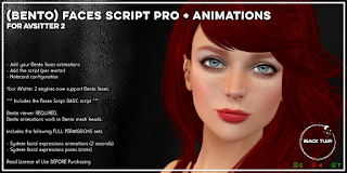 [Black Tulip] Script - BENTO Faces PRO v2+Anims - AVsitter Plugin