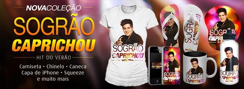 0de981c94 Já está disponível a nova coleção da Luan Santana Shop, a loja virtual  oficial do cantor Luan Santana.