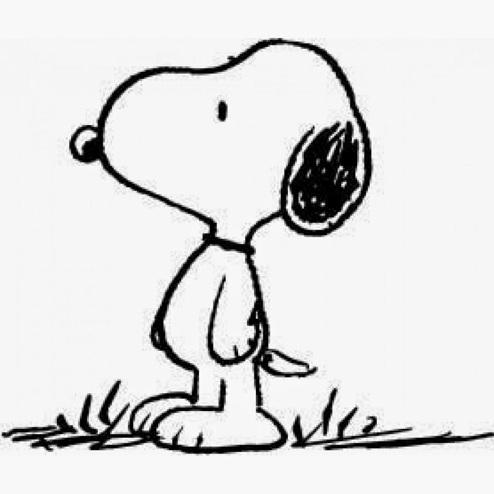 Desenhos Do Snoopy E Turma Para Colorir Pintar Imprimir Espaco