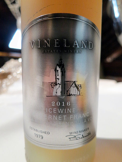 Vineland Estates Cabernet Franc Icewine 2016 (88 pts)