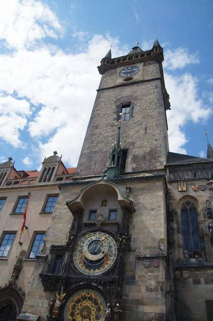 torre del reloj de praga