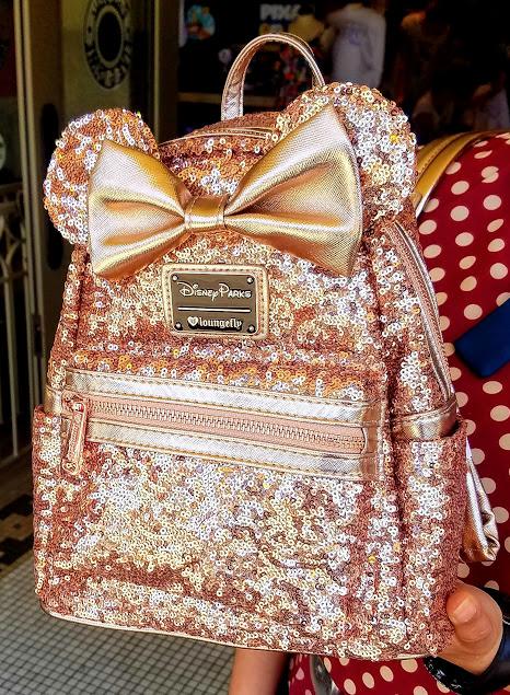 Sasaki Time Giveaway Rose Gold Backpack From Disneyland