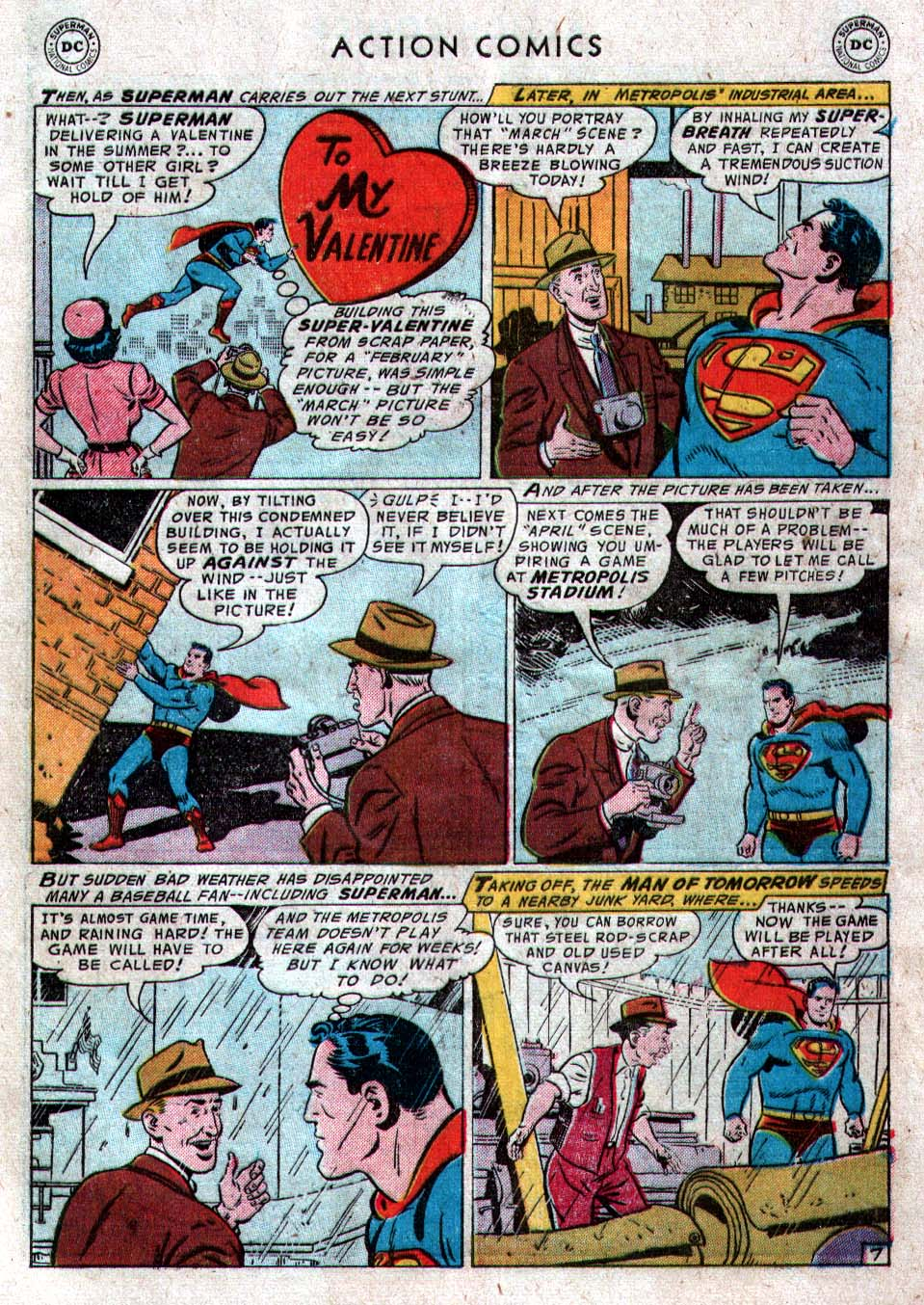 Read online Action Comics (1938) comic -  Issue #212 - 9