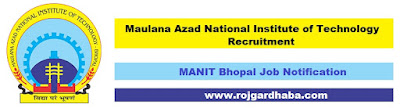 manit-maulana-azad-national-institute-technology-job-recruitment.