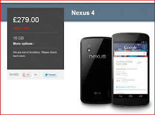 Google Nexus4 First Impressions Review