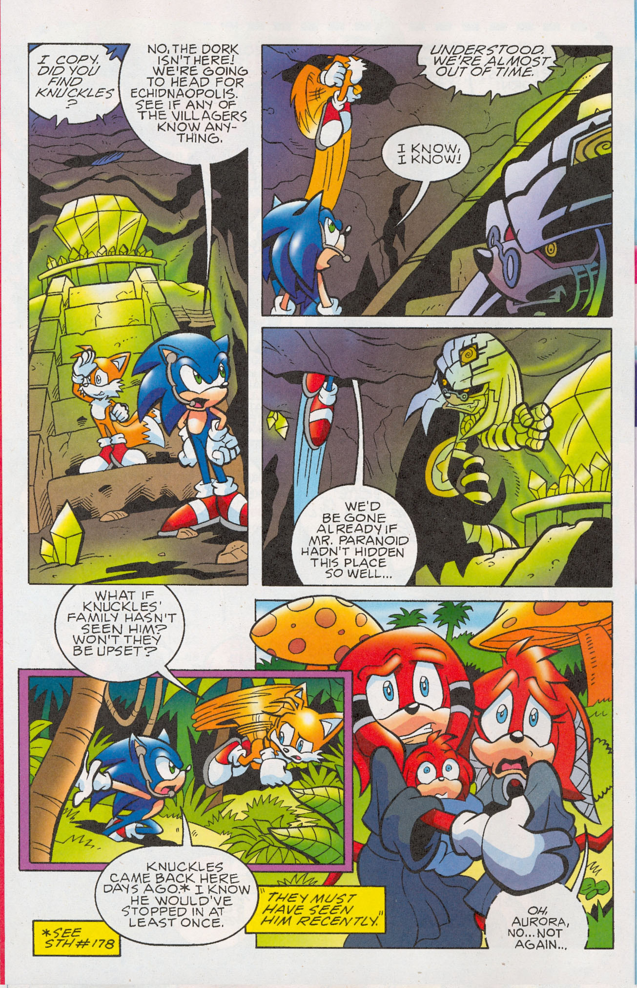 Read online Sonic The Hedgehog comic -  Issue #181 - 11