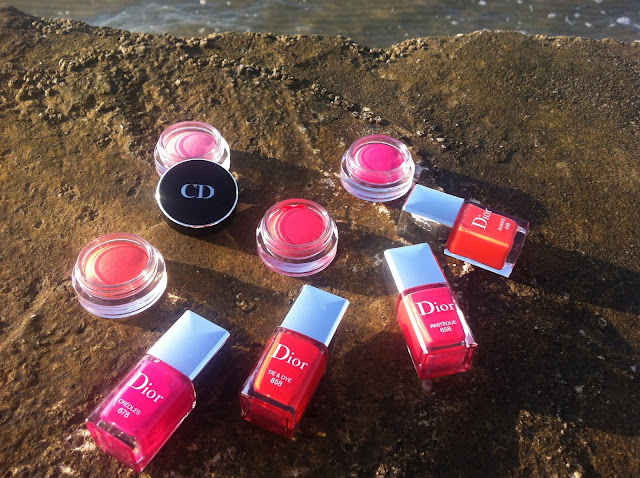 Dior Summer Mix 2013: blush in crema Dior Blush Cheek Creme e smalti Dior Vernis