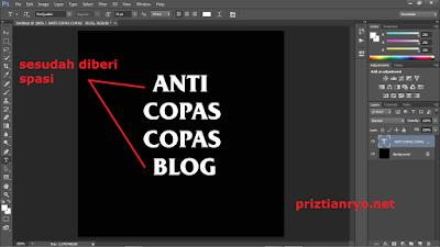 Cara Membuat Logo Anti Social Social Club Dengan Photoshop