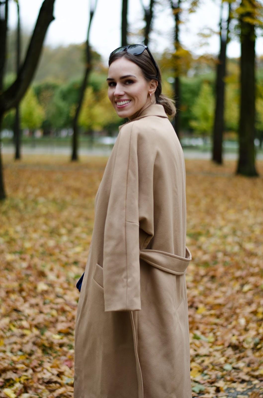 iris janvier camel coat