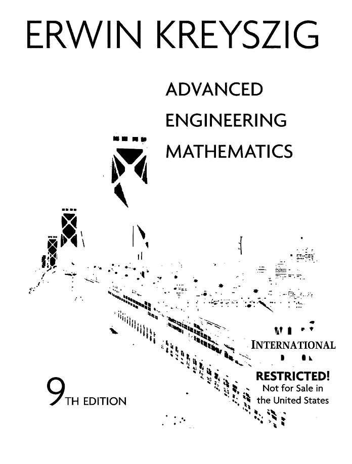 pdf book : Advanced Engineering Mathematics, 9th Edition