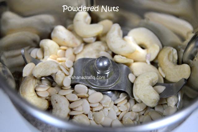Cashewnut, Almond, Pistachio Powder, Nuts