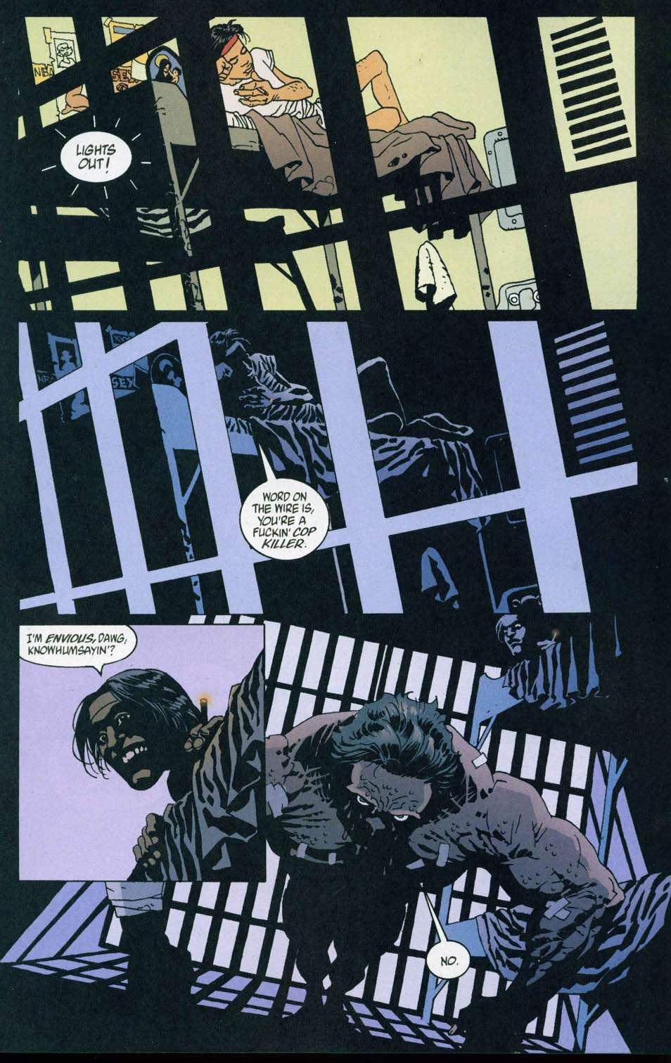 Read online 100 Bullets comic -  Issue #44 - 2