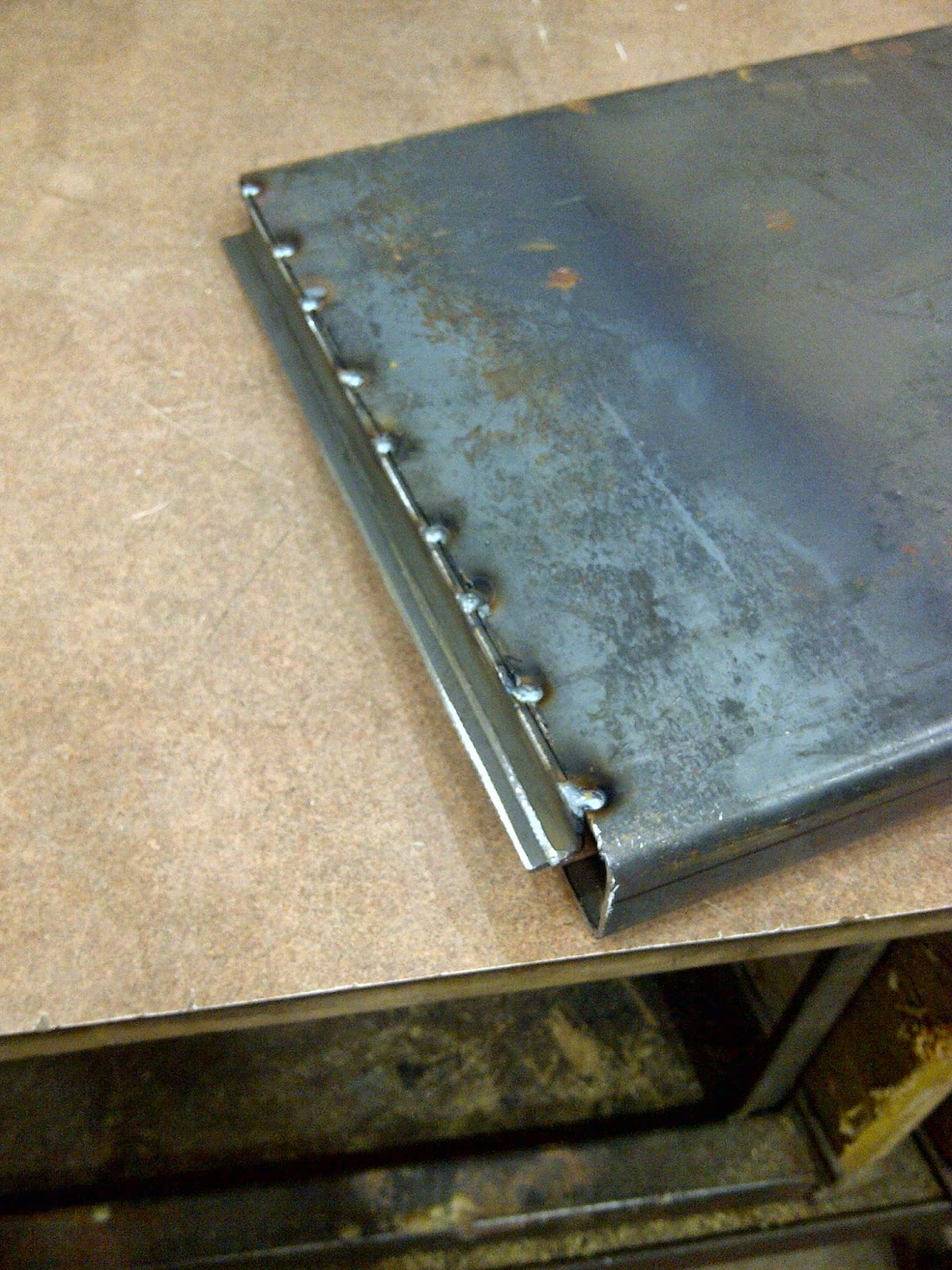 Another Day Another Project Re Fabricate Bbq Drip Tray