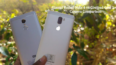 Xiaomi Redmi Note 4 vs Coolpad Cool 1 Camera Comparison